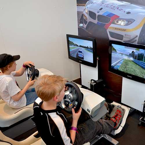 Playstation Driving Simulator