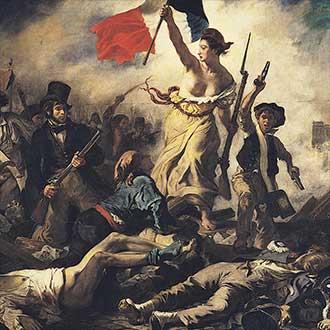 Die Freiheit führt das Volk.