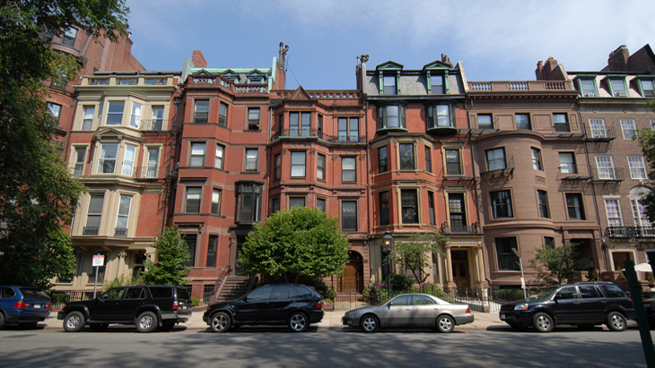 Boston Back Bay Mansions