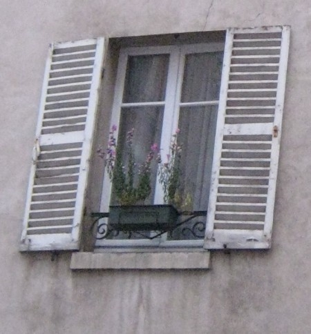 A window in Paris
