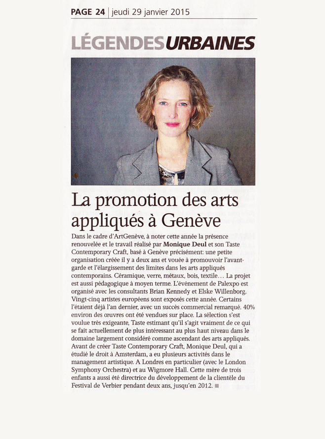 L'AGEFI  29 January 2015