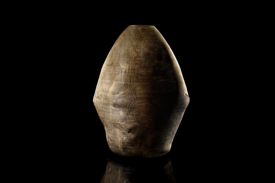 Object in Oak  Oak, 60x78cm, Photograph by Tom Vack