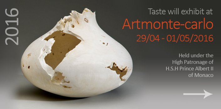 Taste will exhibit at Artmonte-carlo 2016