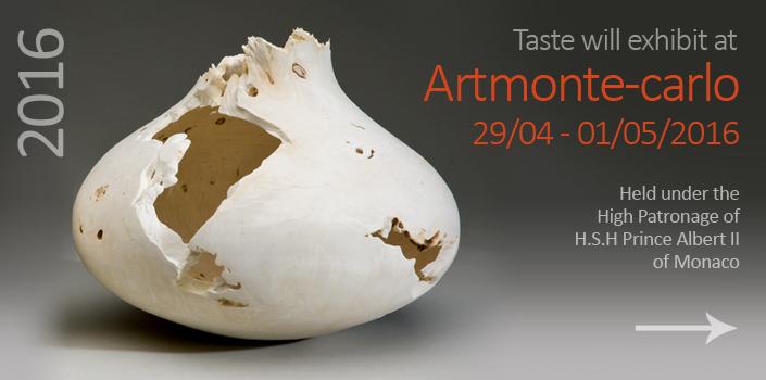 Taste will exhibit at Artmonte-carlo 2016