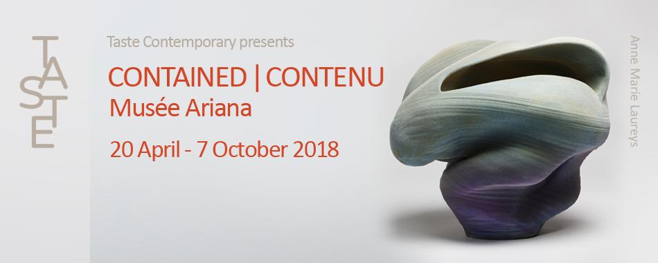 CONTAINED | CONTENU | 20 April - 7 October 2018