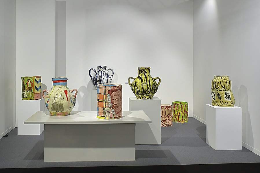 Ajar ; solo show of work by Philip Eglin at artgenève 2019.