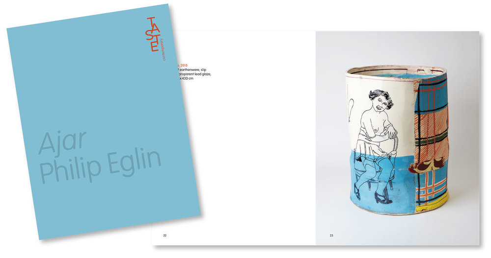 Ajar – a solo exhibition by Philip Eglin