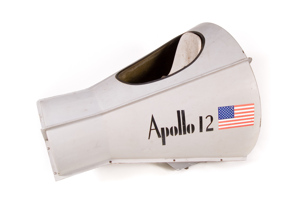 "Space Capsule Amusement Ride – ""Apollo 12"" - Length 4'2"""