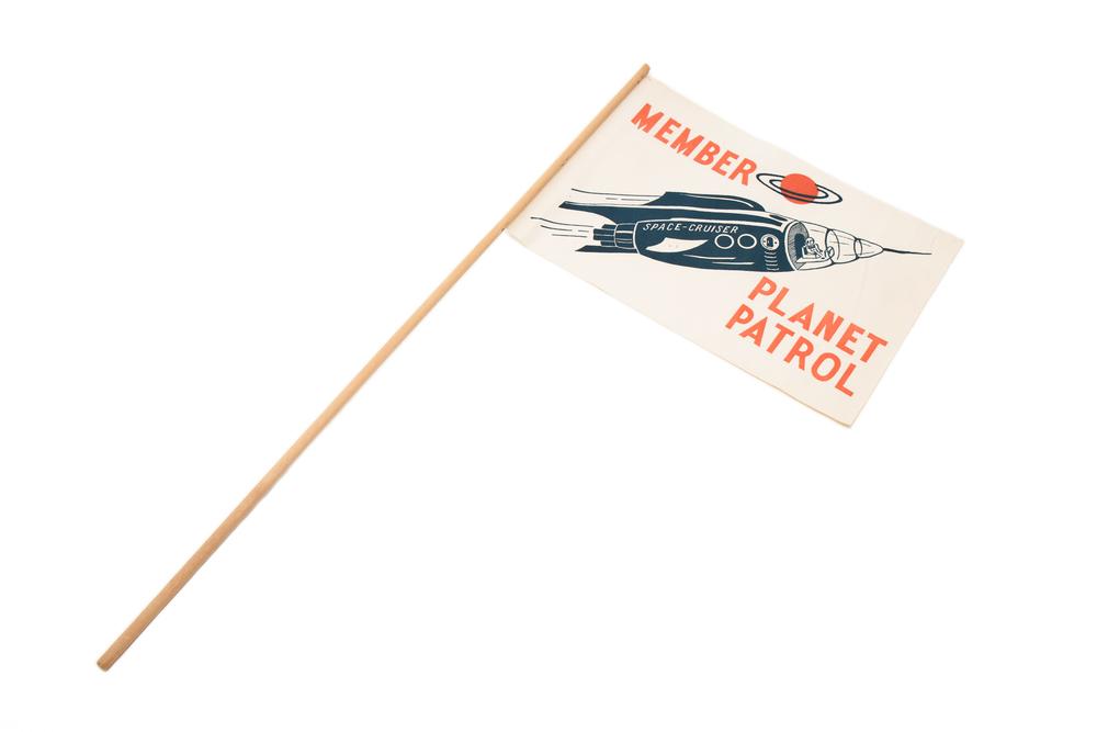 Membership Banner – Planet Patrol (circa 1954)