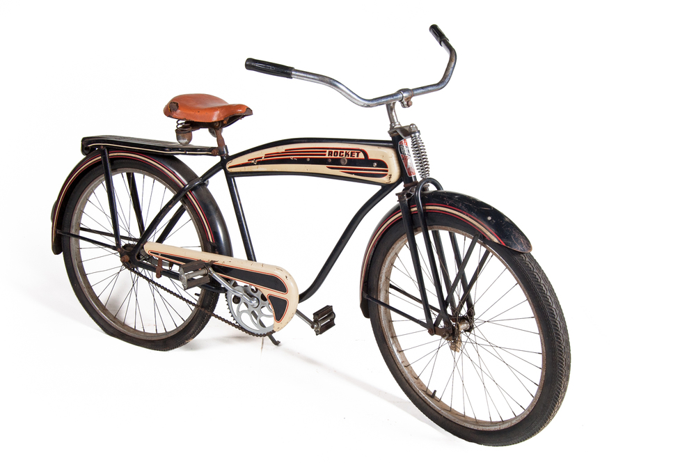 "Bicycle – ""Rocket"" (Monark circa 1948) - Length 6'0"""