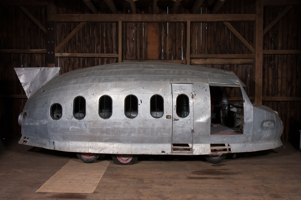 "Space Ship Vehicle – ""Earth-To-Mars Special"" (circa 1945) - Length 20'0"""