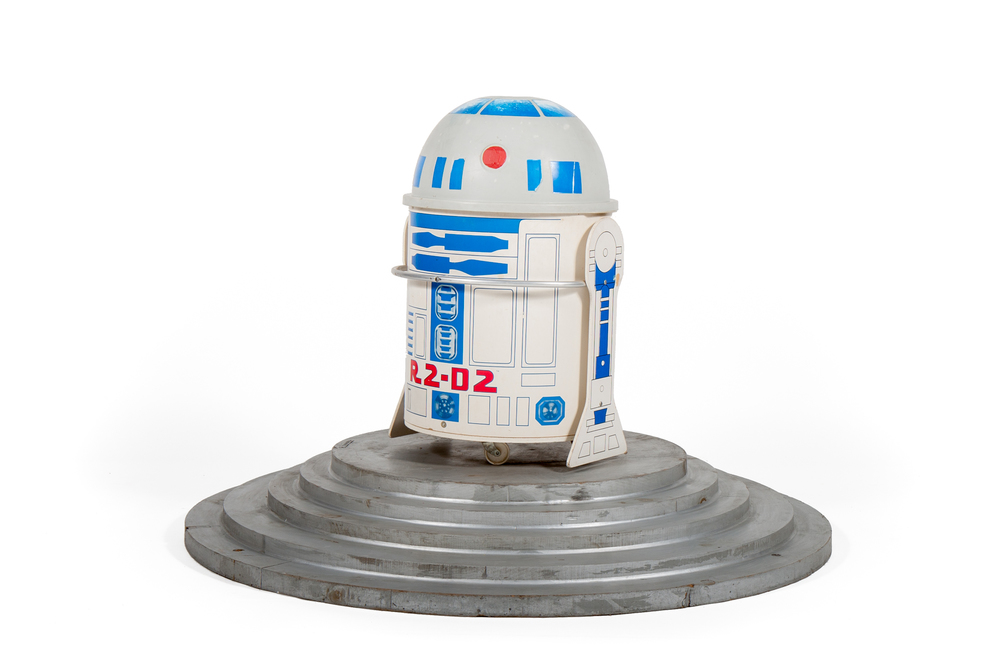 "Star Wars ROTJ Toy Box – ""R2-D2"" (1983) - Height 2'4"""