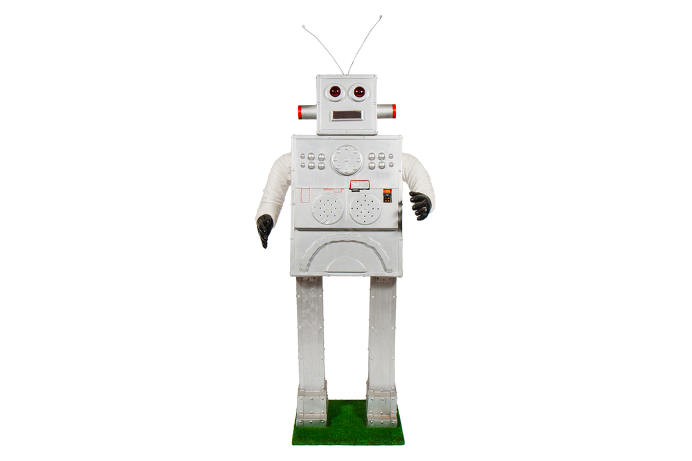 Promotional Display Robot from Department Store (circa 1960) - Height 6'9""
