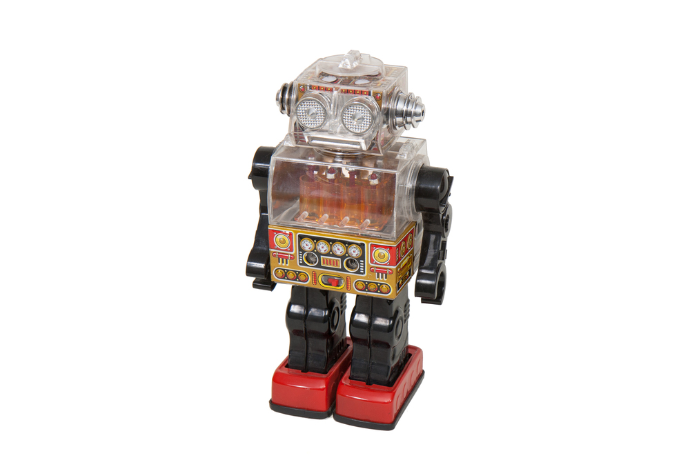 Toy Robot – Plastic and Tin (Japan circa 1970)