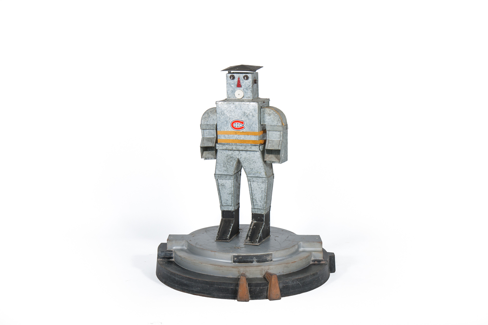 Promotional Robot / Tin Man from Heating Ducts - (Canadian circa 1960)