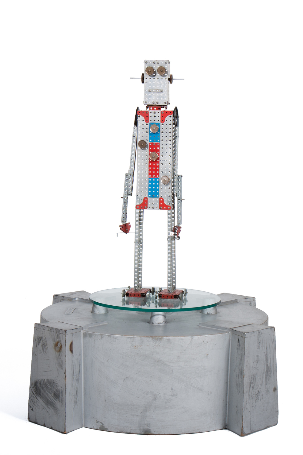 Erector Set Robot (AC Gilbert circa 1960) - Height 2'6""