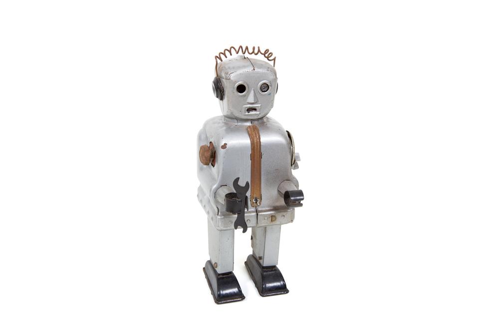 "Toy Robot – ""Zoomer"" (Tin – Nomura circa 1954)"