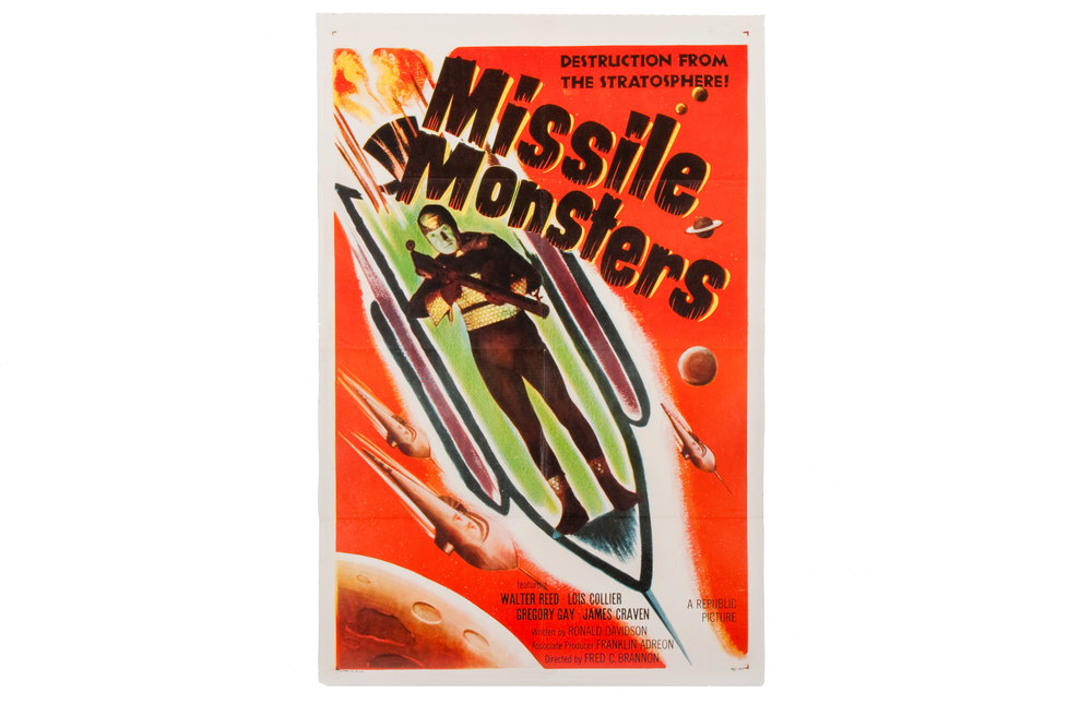 "Movie Poster – ""Missile Monsters"" (1958)"