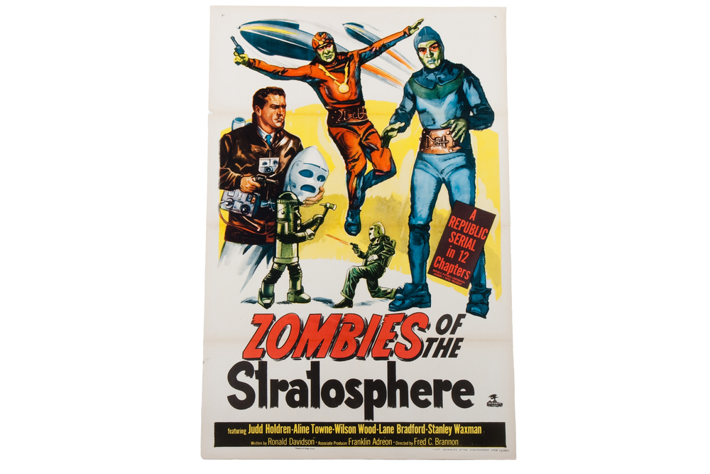 "Movie Poster – ""Zombies of the Stratosphere"" (1952)"