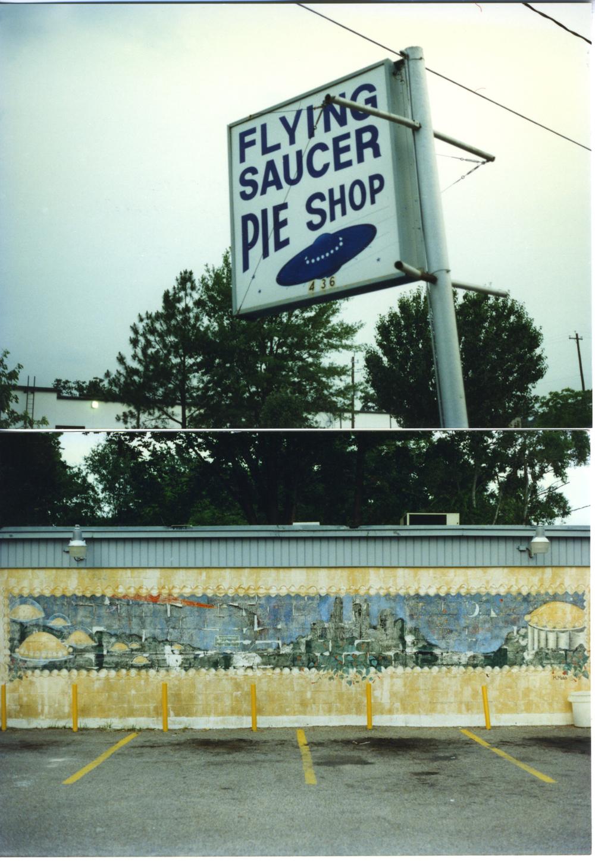 Flying Saucer Pie Shop (Houston, TX circa 1990)