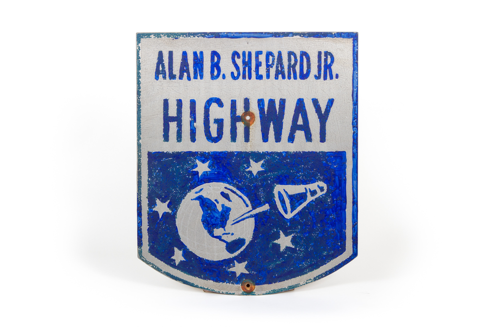 "Road Sign – ""Alan B. Shepard Jr. Highway"" (Derry, New Hampshire 1961)"