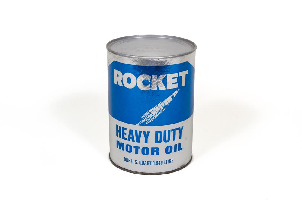"""Motor Oil Can – """"Rocket"""" (circa 1975)"""