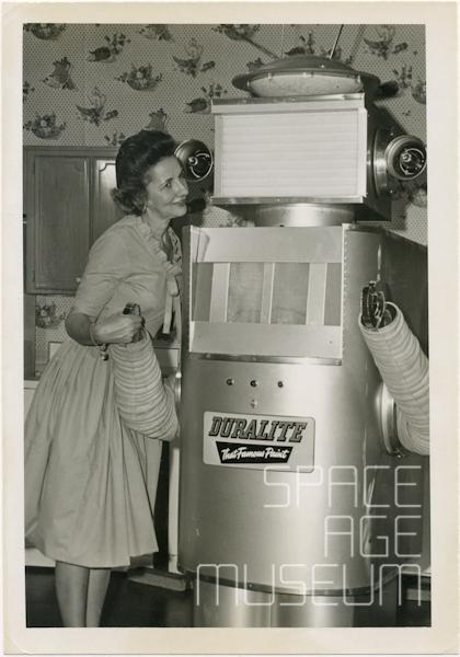 Duralite Robot with Admirer (circa 1958)