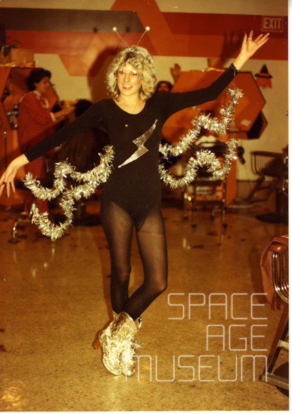 Woman in Space Outfit (circa 1982)