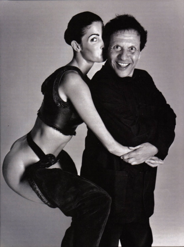 Captured by Richard Avedon, model Stephanie Seymour shared a close friendship Mr Alaia.