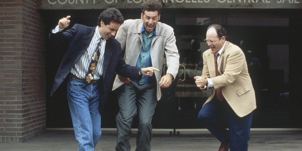 Seinfeld's Jerry, Kramer and George are a good example of authentic normcore.