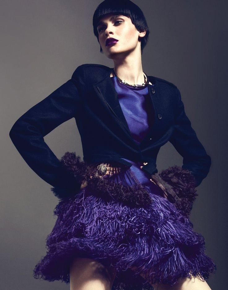 Photo: Harper's Bazaar Spain October 2012