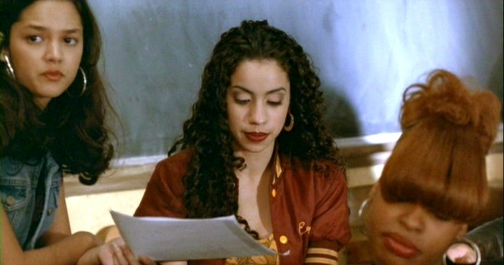 Those hoops: Angela and the girls from Dangerous Minds (1995)