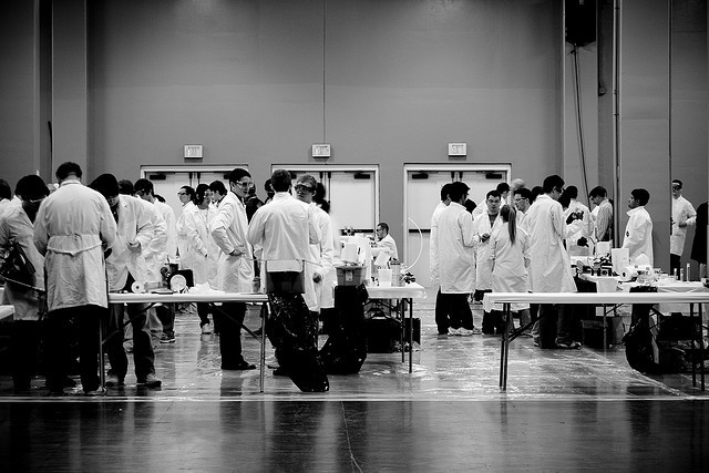 The main test of Hajo Adam and Adam Galinsky's enclothed cognition study explored the effects of wearing a lab coat.
