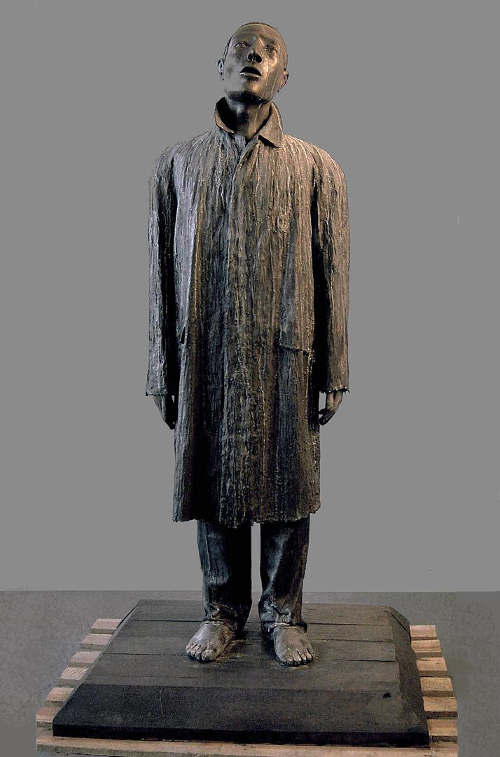 1. JudithSHEA, URBAN FRANCIS, 2000-3, bronze, 78x40x30in. (2).jpg