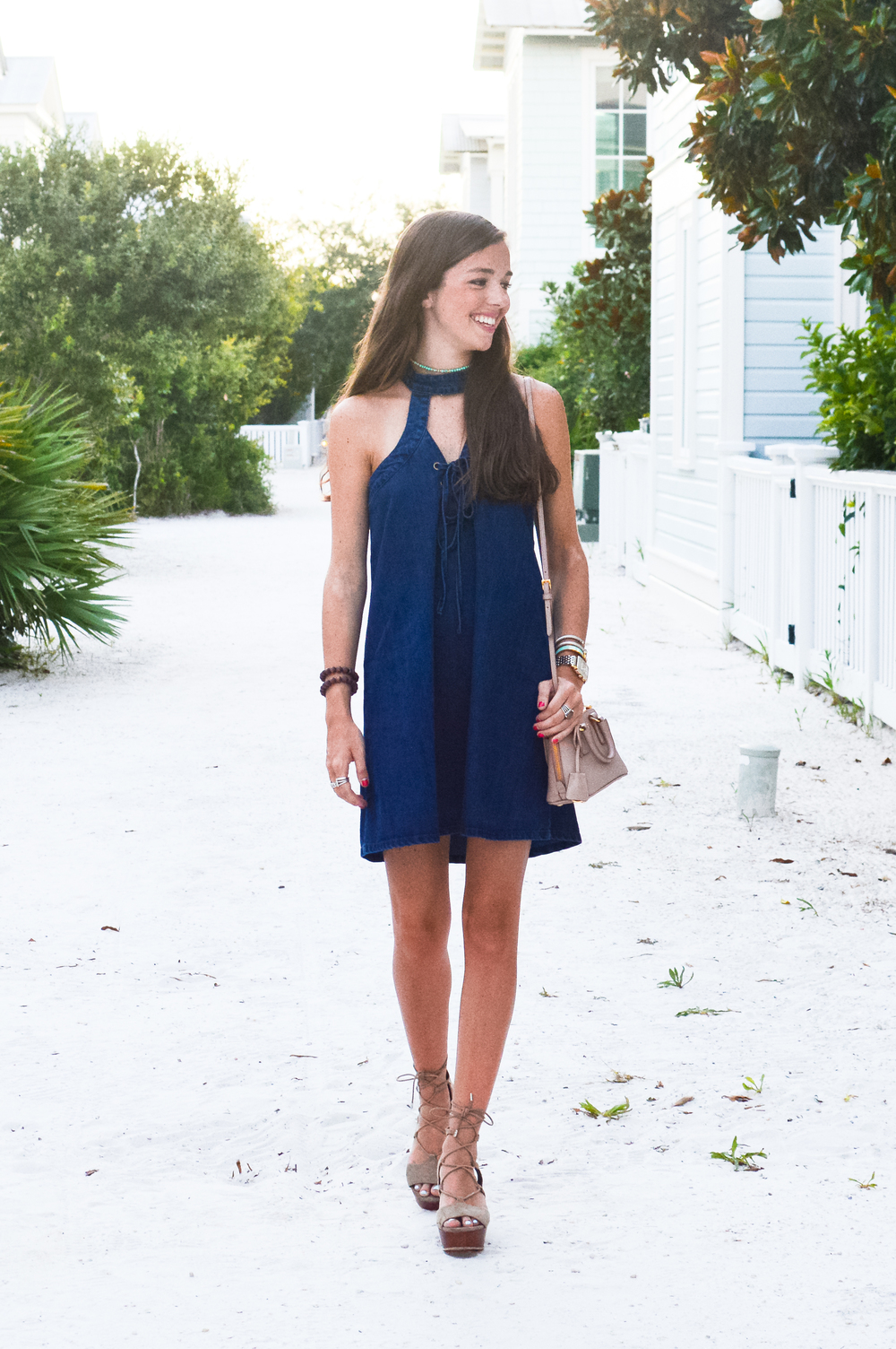 fashion blogger lcb style blue dress (5 of 14).jpg