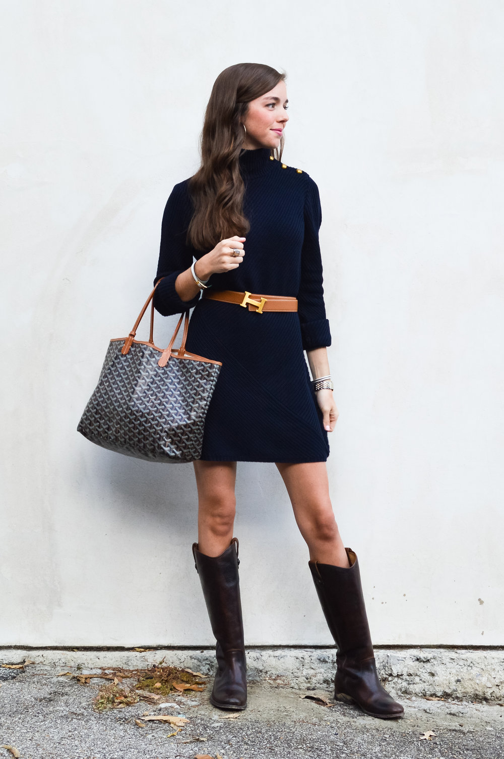 fashion blogger lcb style tory burch sweater dress frye boots barbour beadnell jacket  (23 of 43).jpg