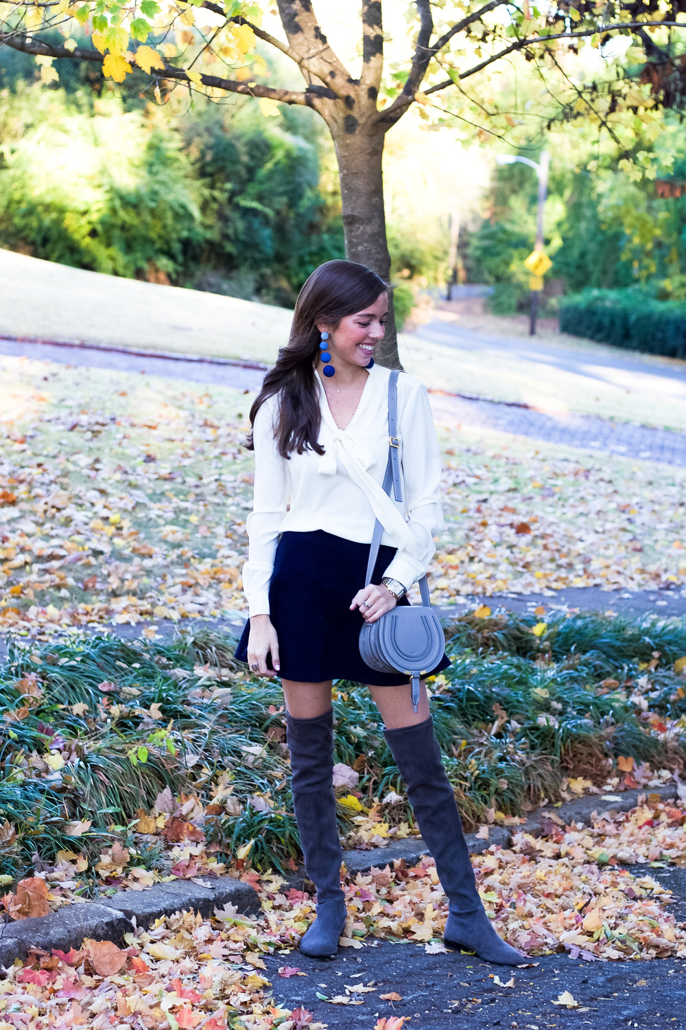 fashion blogger lcb style suede skirt knee boots stuart weitzman chloe marci (11 of 19).jpg