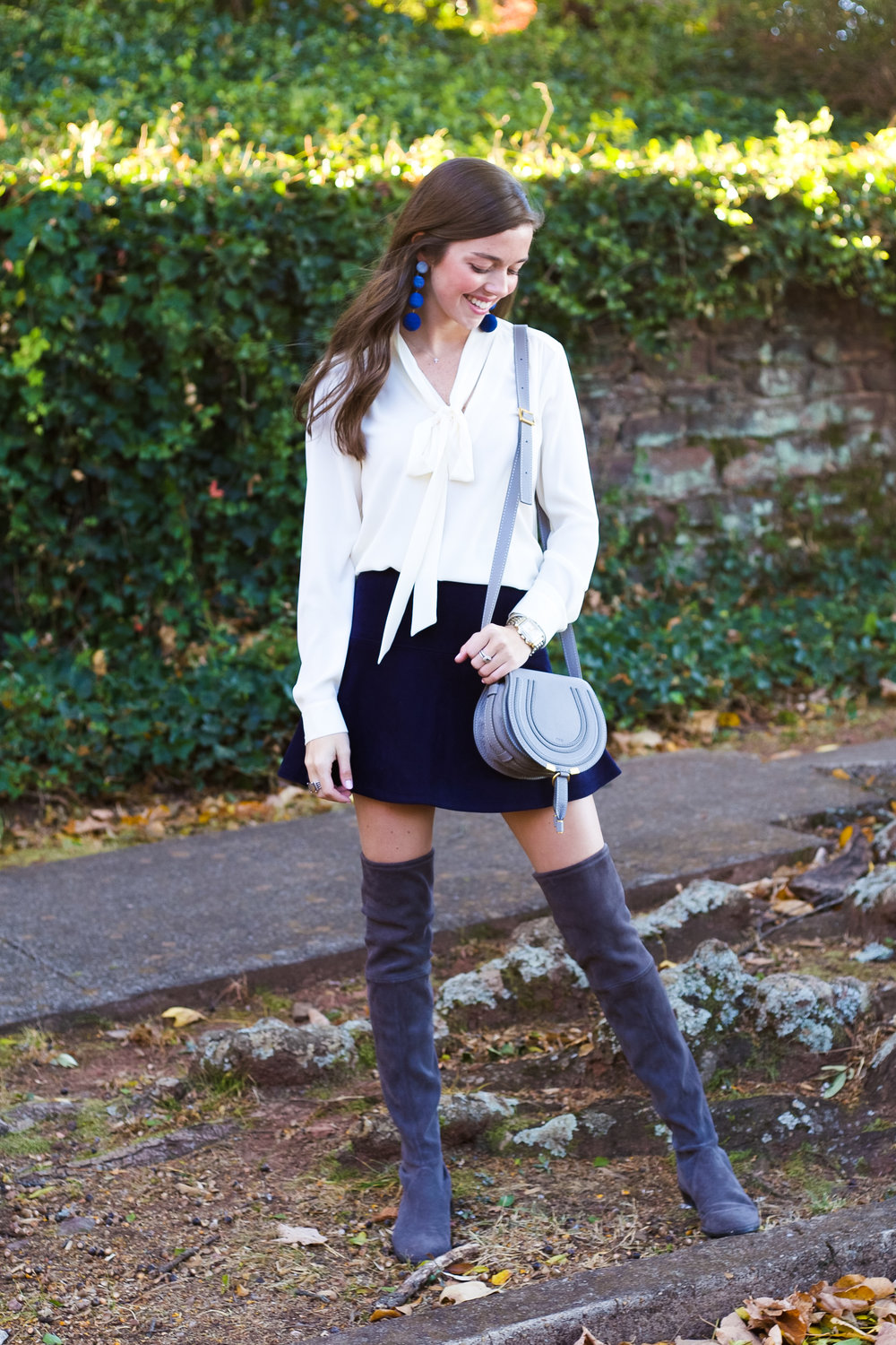 fashion blogger lcb style suede skirt knee boots stuart weitzman chloe marci (12 of 19).jpg