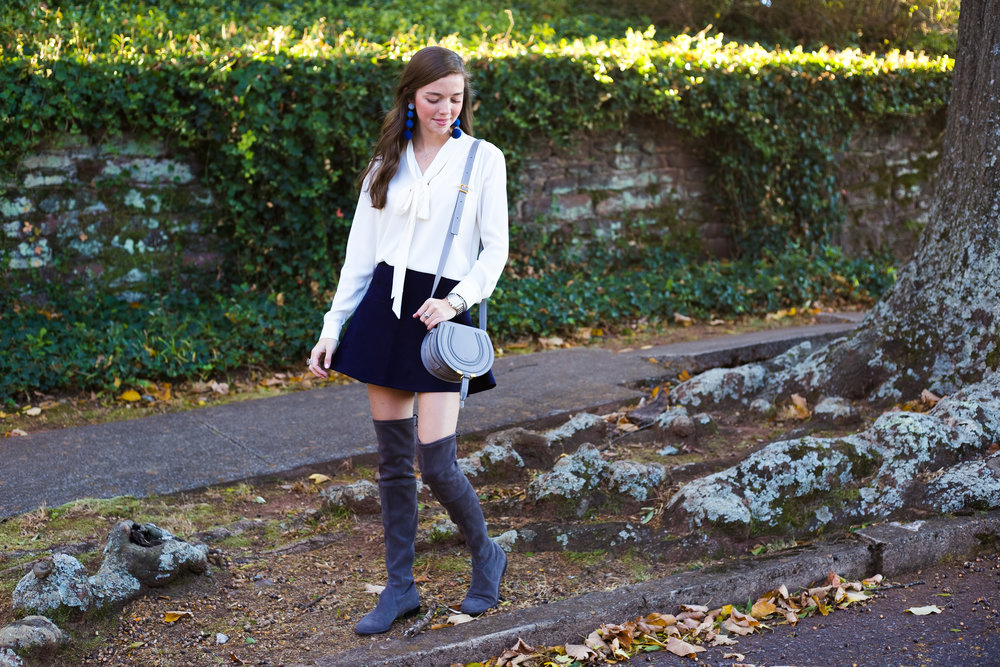 fashion blogger lcb style suede skirt knee boots stuart weitzman chloe marci (16 of 19).jpg