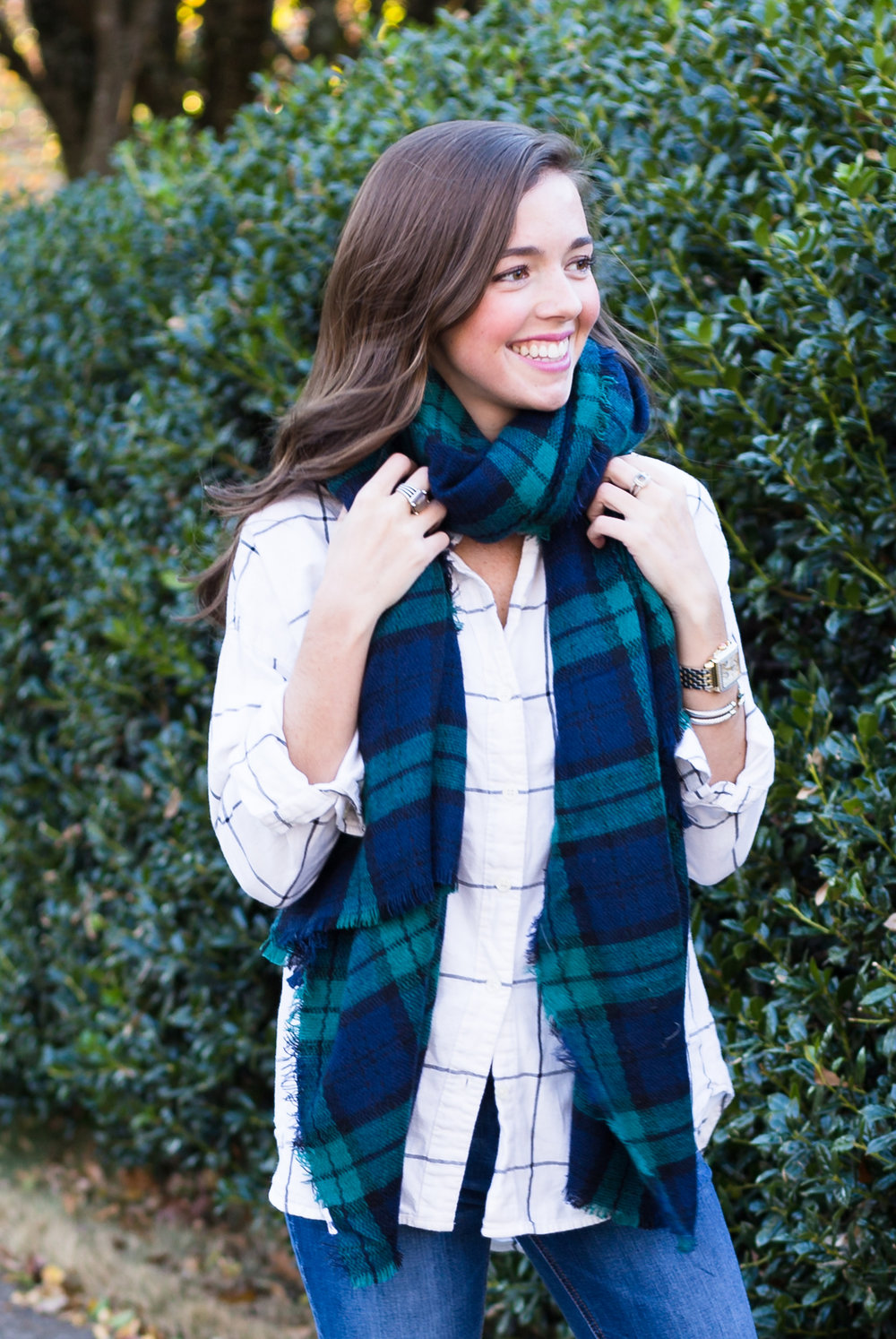fashion blogger lcb style plaid scarves flannel (2 of 4).jpg