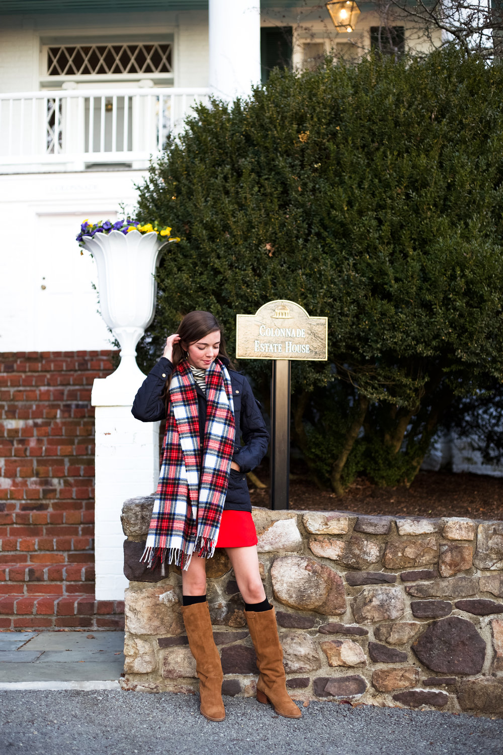 fashion blogger lcb style greenbrier resort christmas barbour international jacket (32 of 32).jpg