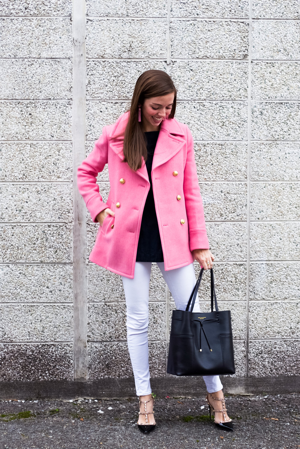 Pink + Black // Valentine's Day Outfit Inspo