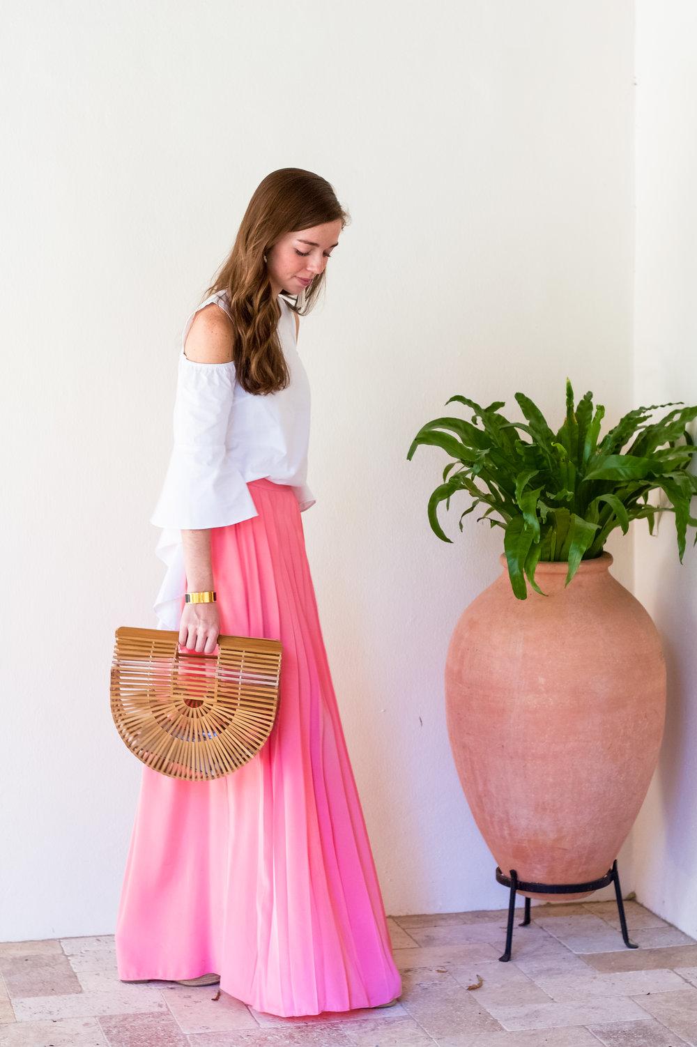 lcb style fashion blogger tibi pleated maxi skirt sea island (10 of 28).jpg