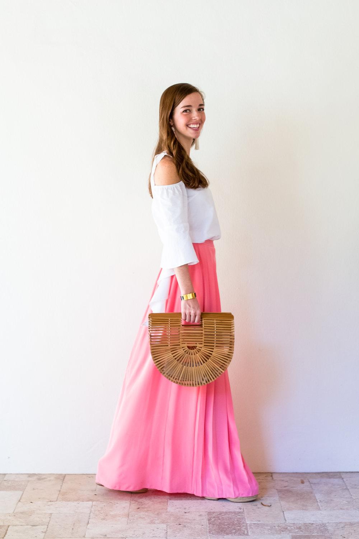 lcb style fashion blogger tibi pleated maxi skirt sea island (12 of 28).jpg