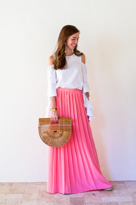 lcb style fashion blogger tibi pleated maxi skirt sea island (16 of 28).jpg