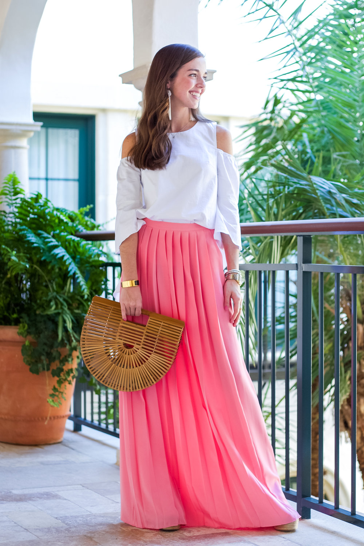 lcb style fashion blogger tibi pleated maxi skirt sea island (23 of 28).jpg