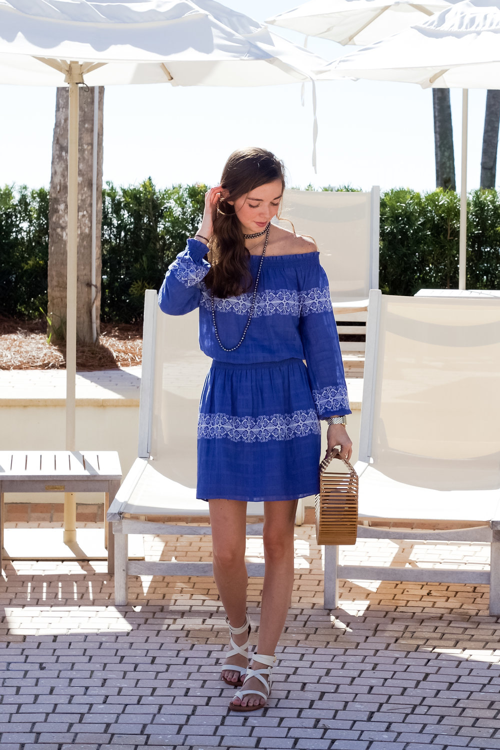lcb style fashion blogger tory burch dress pool beach sea island (14 of 52).jpg