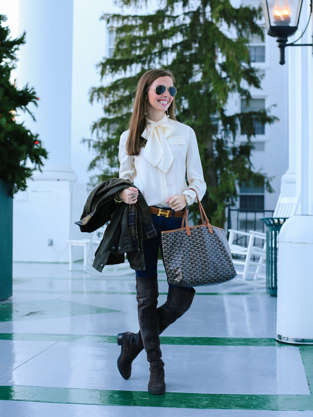 fashion blogger lcb style greenbrier resort barbour (5 of 19).jpg