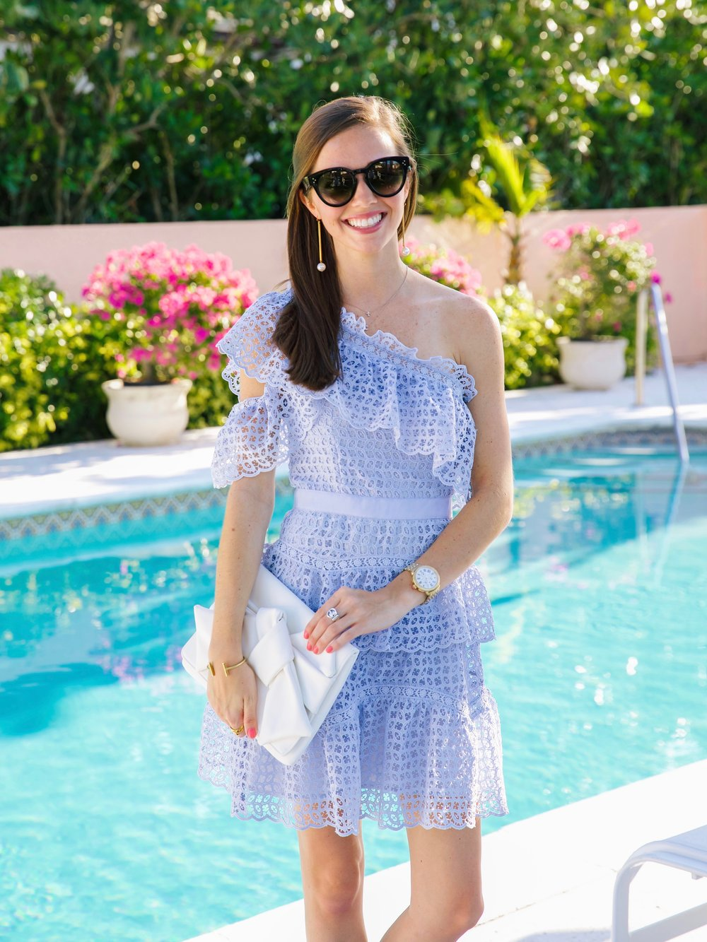 LCB STYLE FASHION BLOGGER PALM BEACH COLONY HOTEL SELF PORTRAIT DRESS5.jpg