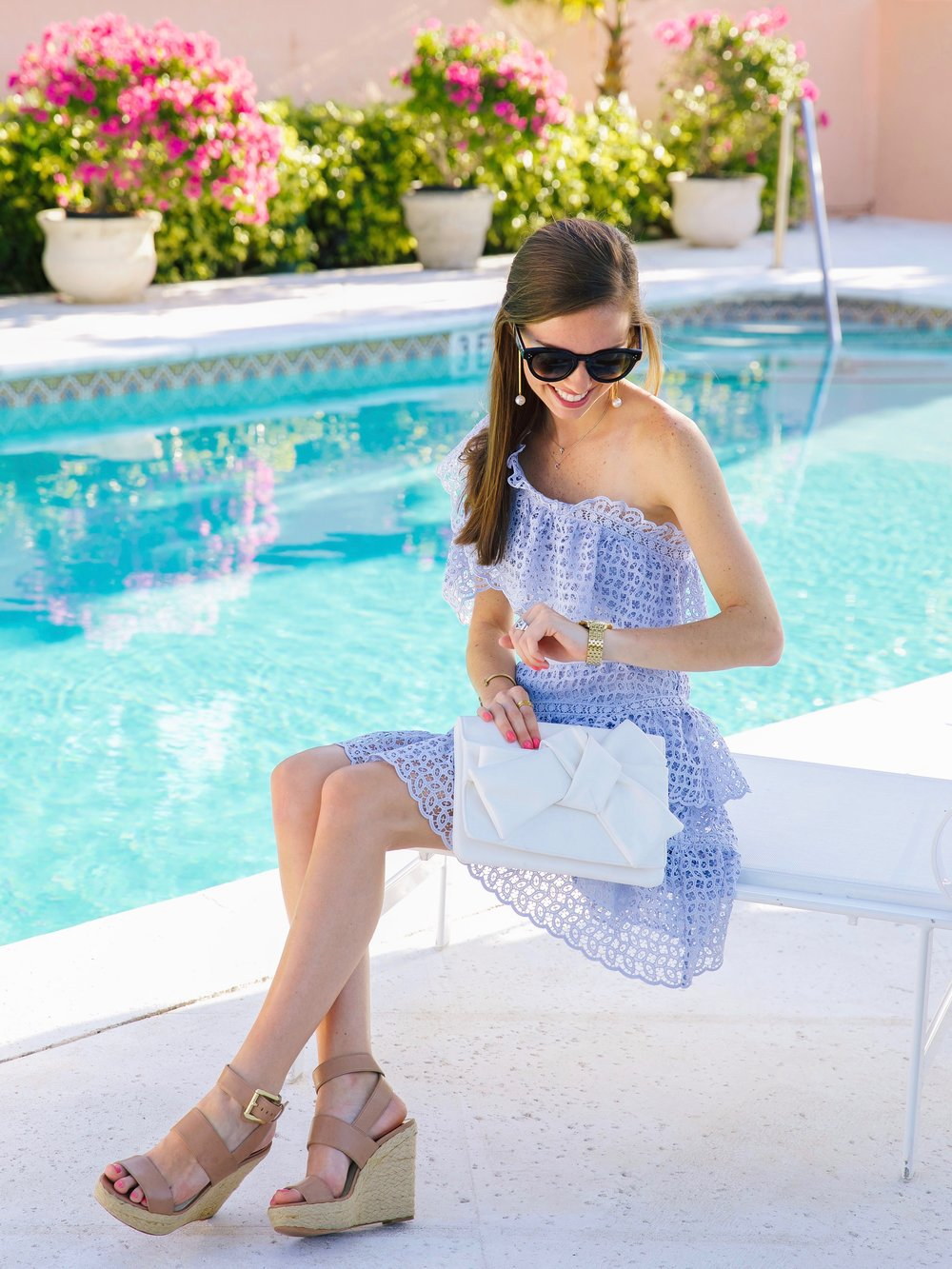 LCB STYLE FASHION BLOGGER PALM BEACH COLONY HOTEL SELF PORTRAIT DRESS10.jpg